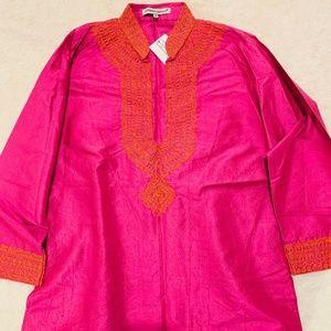 Pink and Orange Tunic